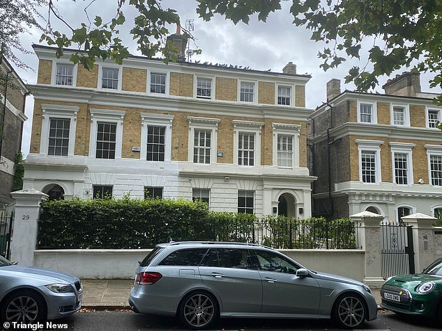 The four-storey Camden, North London property has become a shrine to Amy Winehouse since the singer tragically died in 2011 following a battle with alcohol and drug addiction