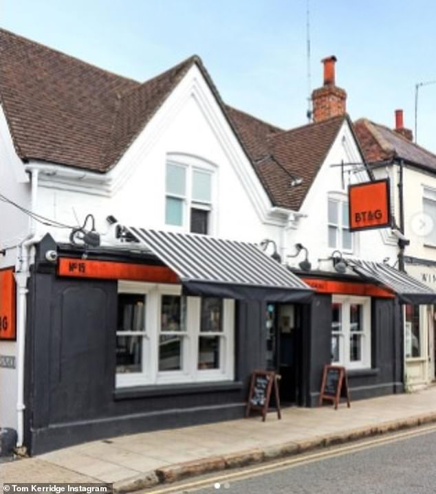 The Butchers Bar and Grill, pictured above.Others praised the concept, with one writing: 'I'd gladly pay £12.50 and more. I appreciate the skills you guys have'