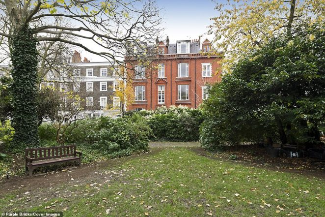 The home was once an art studio that was built on land left over after houses were demolished to make way for the London Underground at the end of the nineteenth century