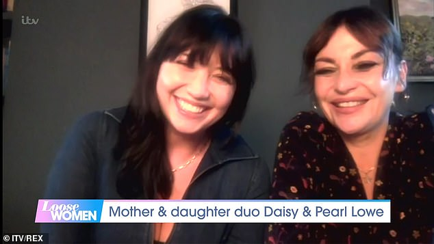 Wellness:Daisy Lowe has revealed her how her mother Pearl sobriety sparked an interest in wellness techniques during an interview on Loose Women on Friday