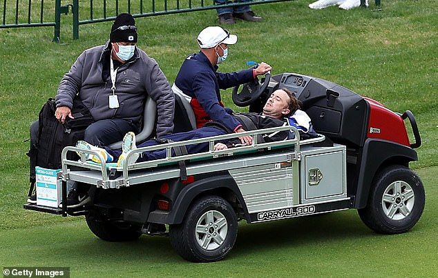 The Professional Golfers' Association of America said afterwards: 'In today's Ryder Cup Celebrity Match, actor and musician Tom Felton experienced a medical incident on the course while participating for Europe'