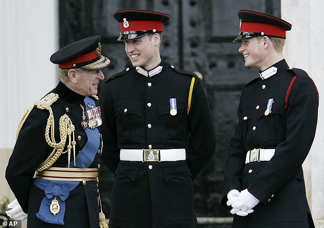 Princess William and Harry both attended the world-renowned Sandhurst Military Academy
