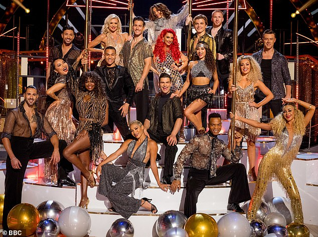 U-turn: One of Strictly Come Dancing's three unvaccinated professional dancers has reportedly decided to have their jab, leaving only two left to have their vaccine