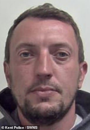 Roy Basson, 39, was caught trying to squirrel away 20 bags of cocaine into a secret compartment in his Citroen Berlingo