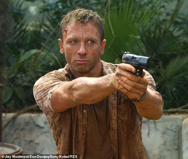 Stepping Down: The head of Eoin Productions, which signs every major hiring and firing in the franchise, said he'll be discussing who will take over the role of Daniel Craig next year — and it will be a man [pictured in 2006's Casino Royale]