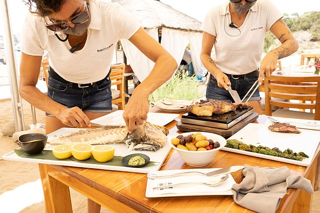 Kick back and enjoy a long lunch at Blue Marlin