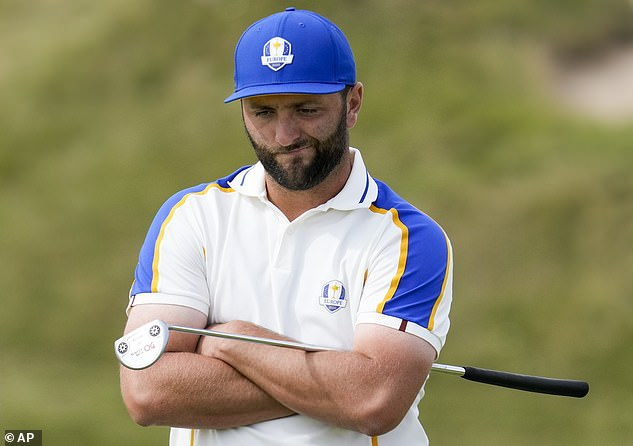 Jon Rahm was one of Europe's standout players but could do little to turn the tide