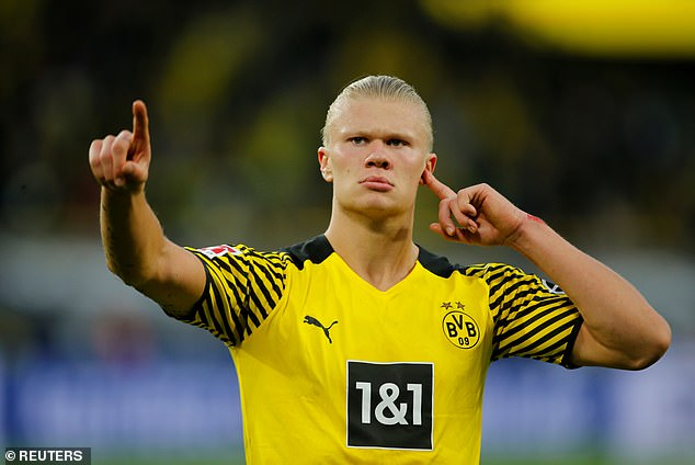 Borussia Dortmund insist there is no financial pressure to sell Erling Haaland next summer