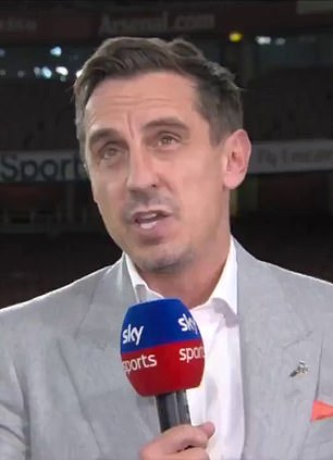 Neville explained that a lack of solidarity was hurting United's bid for a title