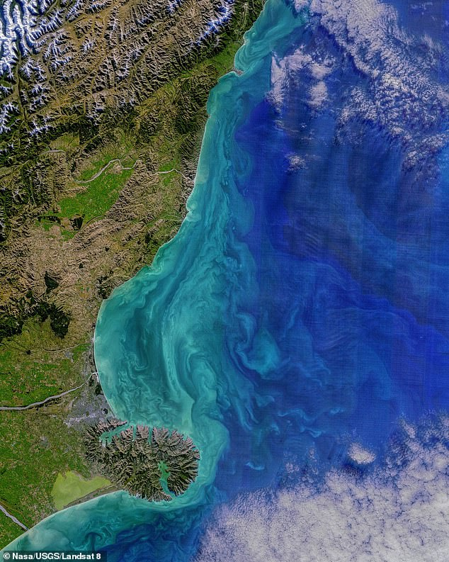 The Landsat 9 satellite is NASA's most powerful Earth observation satellite to date and continues its 50-year legacy.  It will capture changes in climate, including monitoring coastal areas like this view of New Zealand taken from a previous generation satellite