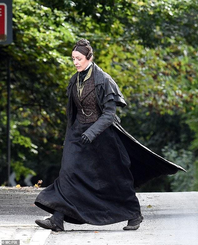 Series: Gentleman Jack BBC period drama centering on Surne's character Anne and her boyfriend Ann Walker