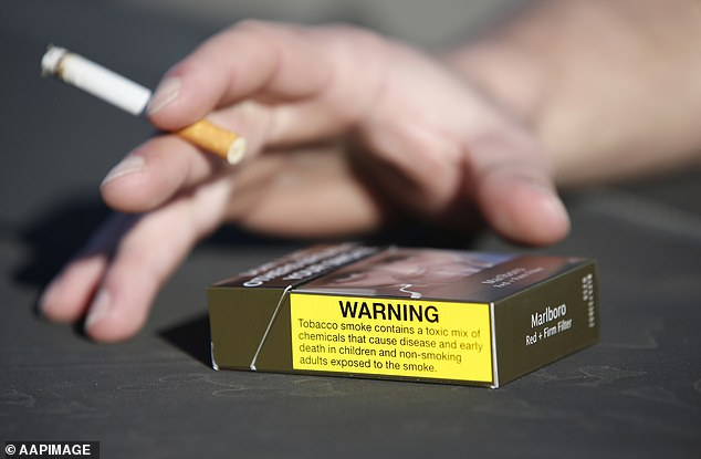 One study found that regular smokers who try to quit the habit may gain weight.