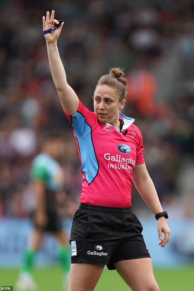 Sara Cox became a rugby trailblazer by taking charge of Harlequins versus Worcester