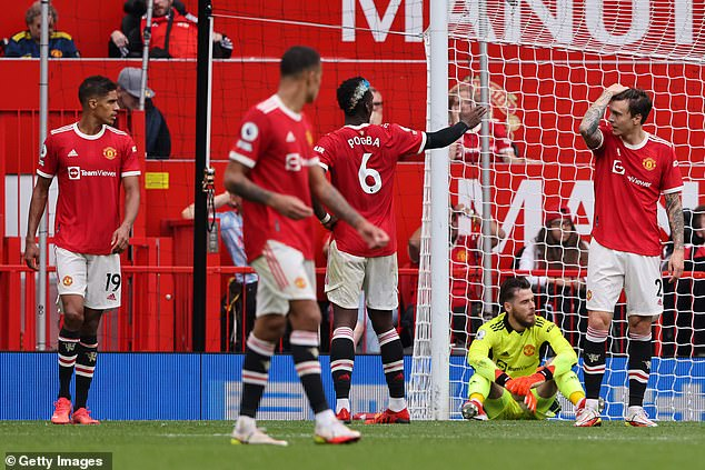 The Red Devils' all- star team lost 1-0 to Aston Villa on Saturday and looked generally flat