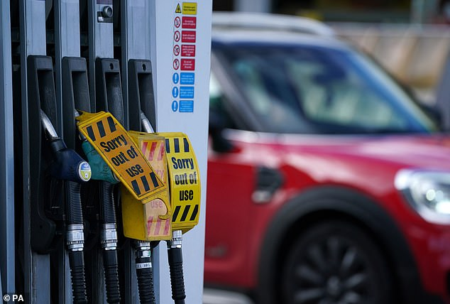 Hundreds of thousands of commuters unable to fill up on Monday were forced to work from home, while some taxi drivers were unable to hit the road as petrol and diesel began to run out in the forecourt.