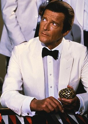 Icon: Roger Moore has become a popular Bond uniting celebrity fans from around the world