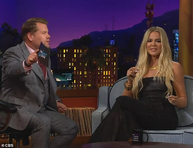 On TV:This comes after she appeared on The Late Late Show With James Corden on Monday. James asked Khloe about her race with mom Kris Jenner to finish their houses they are building next door to each other in Hidden Hills, California, where Kim and Kylie already have mansions