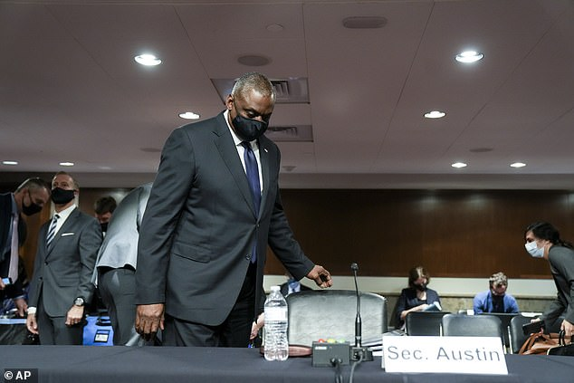 Secretary of Defense Lloyd Austin appeared before the Senate Armed Service Committee on Tuesday in a hearing on Afghanistan