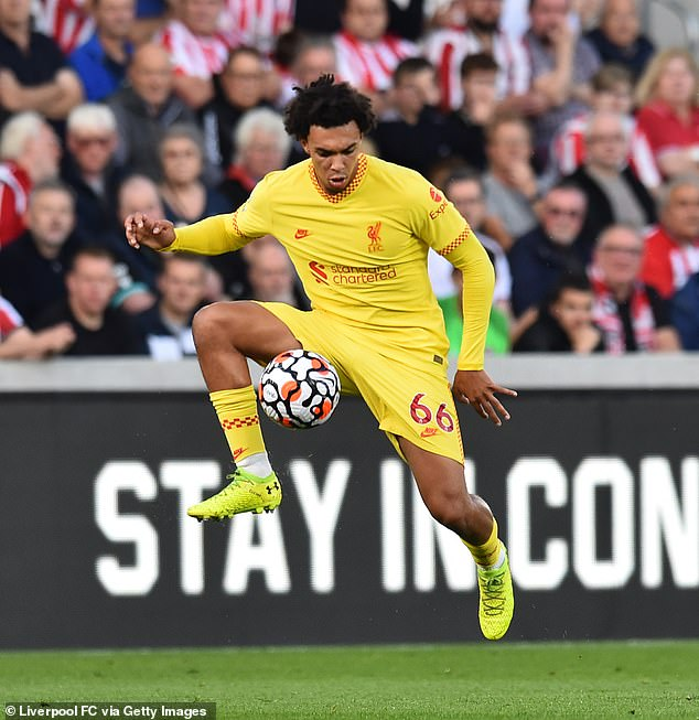Trent Alexander-Arnold is unlikely to feature in Liverpool's showdown against Manchester City