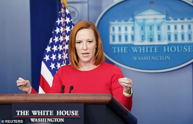 White House press secretary Jen Psaki declined to say whether any military official advised President Biden that some 2,500 troops should be left in Afghanistan in a briefing Tuesday