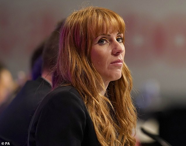 During her successful campaign to be Labor's deputy leader last year, Angela Rayner (pictured) raised £ 185,000 donations from supporters