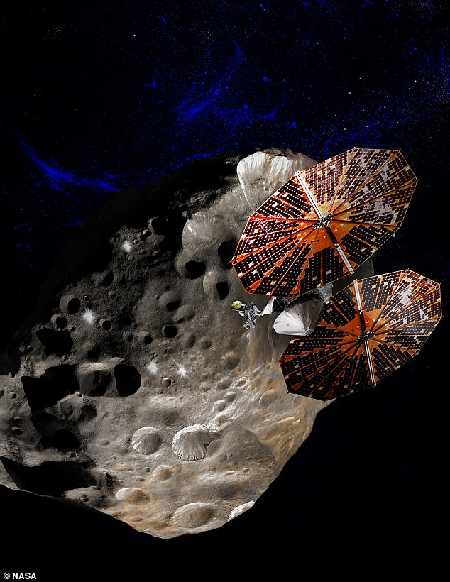In visiting these ancient celestial bodies, the US space agency hopes to understand more about how the planets formed 4.5 billion years ago and where they ended.