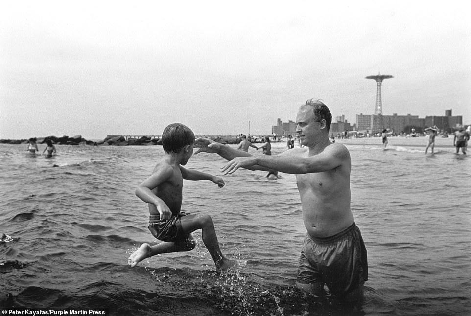 , Photographer Peter Kayafas' new book Coney Island Waterdance documents the Brooklyn beach, Nzuchi Times National News