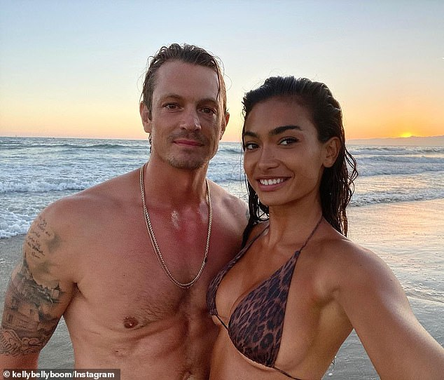Congratulations! Kelly is also busy with wedding preparations after becoming engaged to her Suicide Squad actor boyfriend Joel Kinnaman, 40, (right) in January