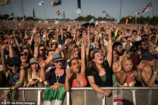 Festival tickets sold for £265 each and a £5 booking fee, with ticket holders paying a £50 deposit in 2019