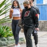 Olympia Valance shows off her washboard abs as she heads to Dancing With The Stars rehearsals💥👩💥💥👩💥
