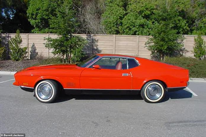 Featured in the 1971 Bond film Diamonds Are Forever, this Ford Mustang failed to sell at auction in 2004, but the top bid was well above the average American muscle car price at the time.