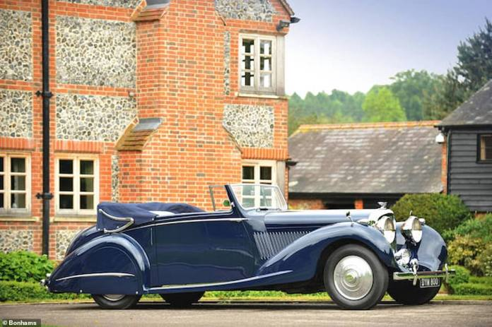 This Bentley driven by Sean Connery in Never Say Never Again sold in 2004 for £188,500 and again in 2010 for £221,500