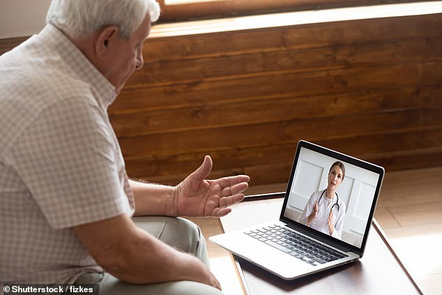 Denise Reid of Silver Voice, a campaign group for over 60s pushing for the legal right to see doctors in person, said firm action was needed (stock image)