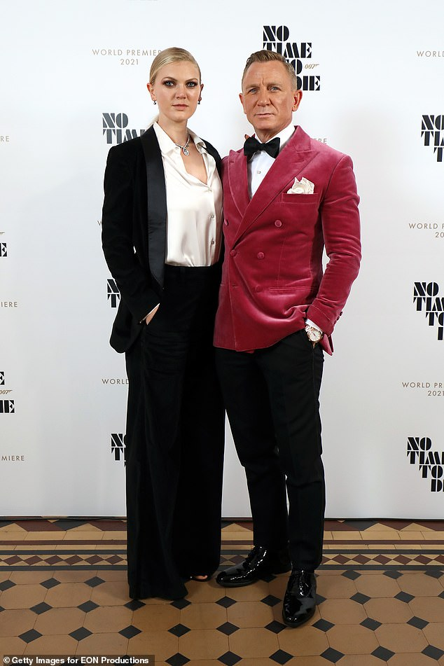 Daniel Craig made a rare public appearance with his daughter Ella Loudon at the No Time To Die premiere and after party