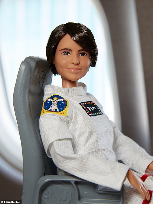 This years theme is 'Women in Space,' and the Barbie brand hopes to encourage girls to become the next generation of astronauts, engineers and space scientists