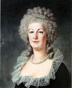 Pictured: Marie Antoinette in 1790
