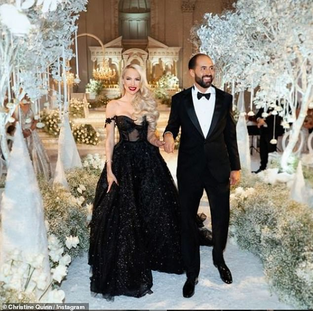 Happy: Christine said her relationship with Christian is stronger than ever, adding that the pair made it work because they are both 'night owls'