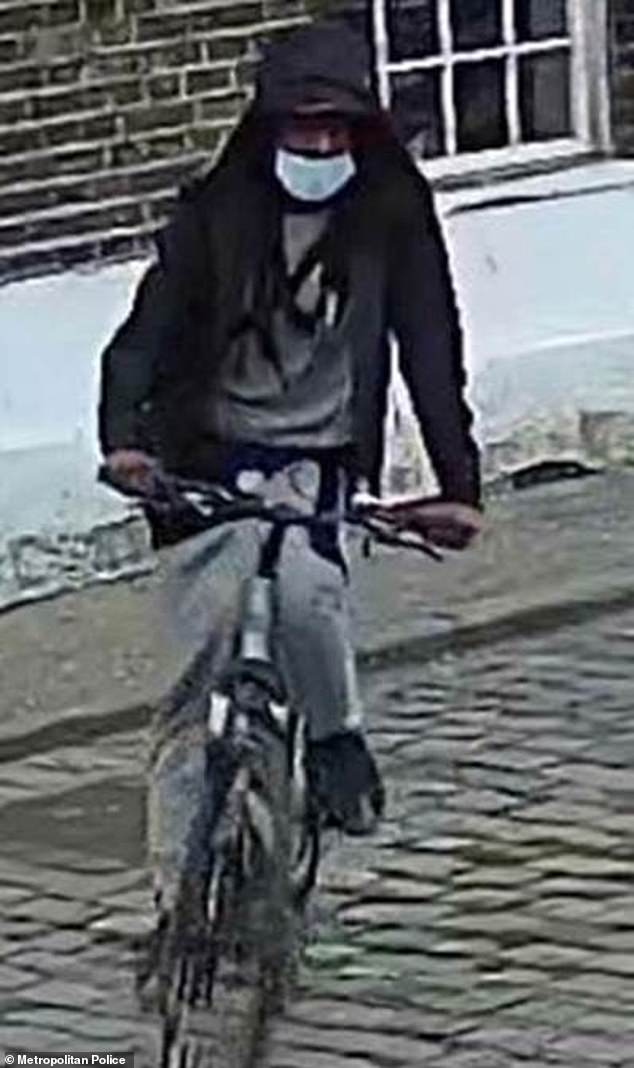The police have released an image of a man they need to identify after he targeted seven women between August 30 and September 29