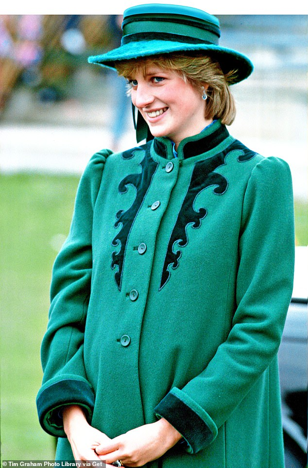Princess Diana visiting Bristol during her pregnancy with her first son, Prince William
