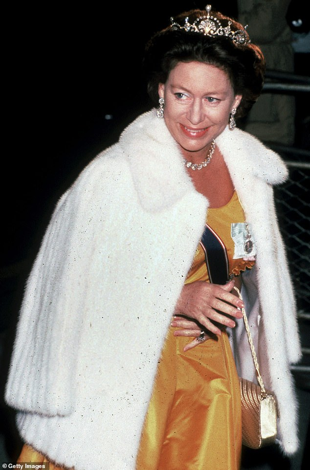 Bossier claimed the Queen's sister's mood could be fickle, and the royal could be 'friendly with you one second but cold the next'.  Margaret is pictured in 1990