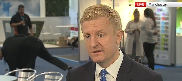 Oliver Dowden blasted North Yorkshire PCC Philip Allott over his 'stupid' comments, which sparked demands for his resignation.