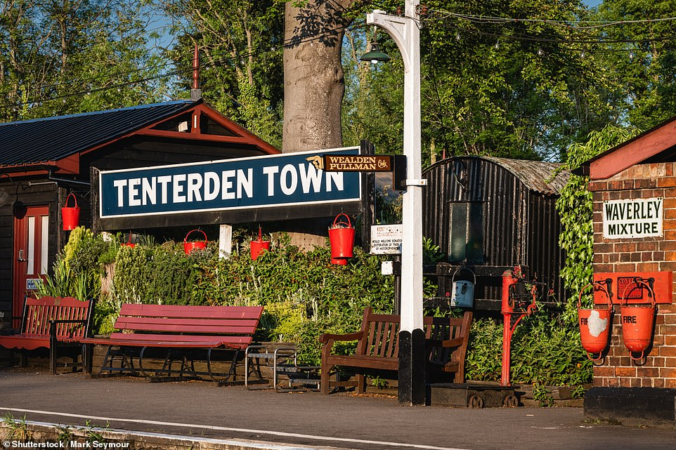 Catch a ride on one of the clattering steam trains for ten miles between Tenterden in Kent and Bodiam in East Sussex to see the countryside proper