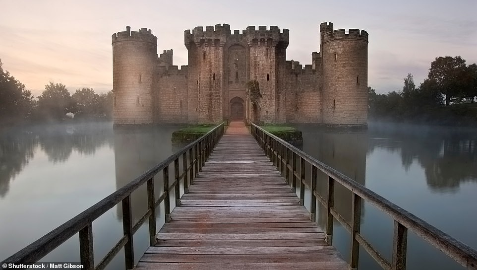Turrets, moats and a tangled (Royalist) history are all waiting to be discovered at Bodiam Castle