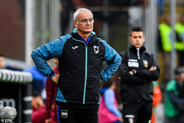 Rainieri's most recent appointment was in Serie A as Sampdoria's manager over two seasons.