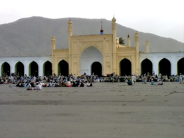 The bomb targeted the Eidgah mosque where a memorial service was being held for the mother of Taliban spokesman Zabihullah Mujahid