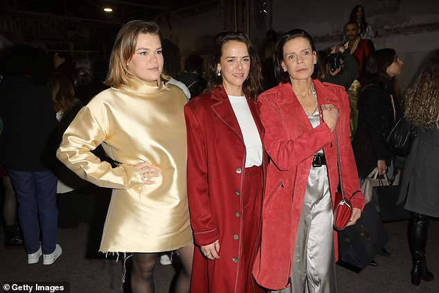 In 1998, Stephanie welcomed a daughter, Camille, but controversy surrounded her birth after she failed to disclose who the princess's father was.  Pauline, Camille and Stephanie were photographed during Paris Fashion Week last year