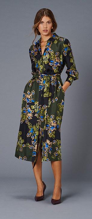 Shirt dress, £135, jaeger.co.uk