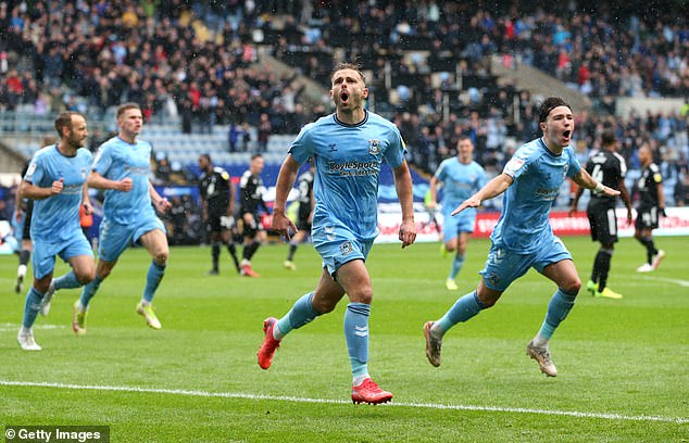 Coventry City fly up the championship table after 4-1 win over Fulham