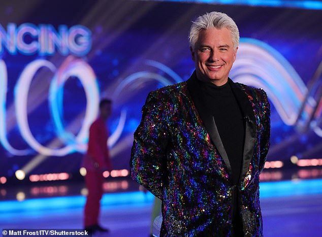 AX: John Barrowman will not return to his pivotal role on Dancing on Ice for a third year, ITV has confirmed — five months after apologizing for exposing himself on the sets of other shows (pictured January 2021)