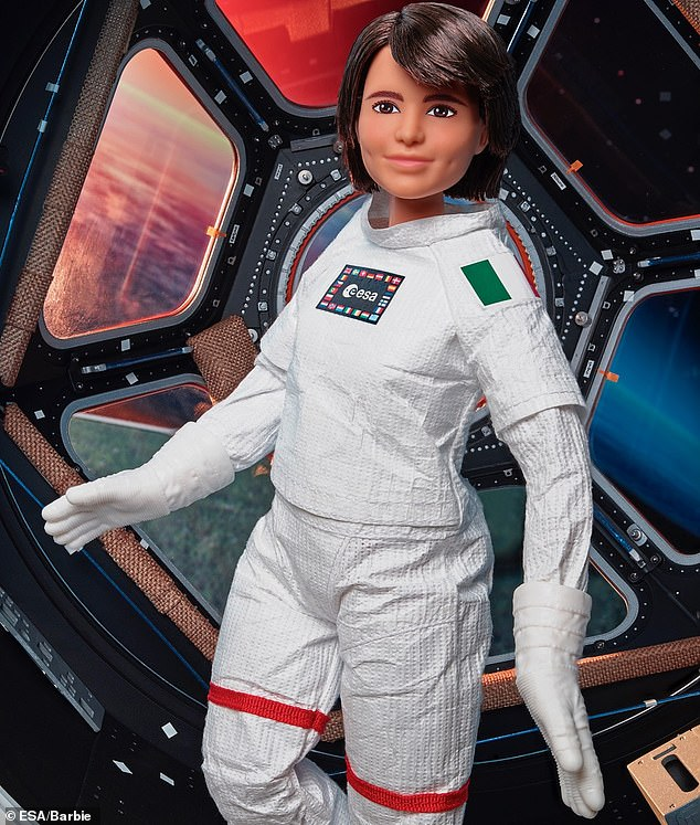 Mattel, makers of Barbie, said part of the proceeds of the new doll of Cristoforetti will fund a Women in Aerospace bursary, supporting a woman studying STEM